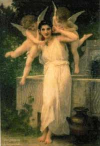 L'Innocence by Adolphe William Bouquereau