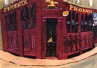 the Phoenix Bar, Nethergate, Dundee. Steven French BA. M. Phil